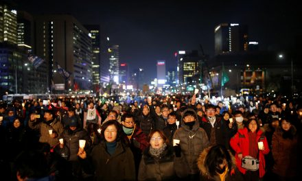 The Cherry Blossom Uprising: Monitory Democracy in Korea