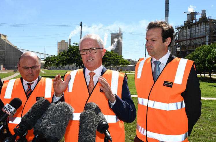 Corporate welfare Canavan calls for taxpayers to fund gas exploration