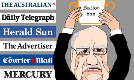 Bruce Guthrie: Hello Rupert, goodbye Malcolm