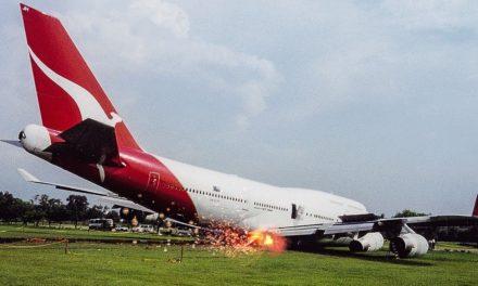Revealed: Qantas venture with Triads skids off runway