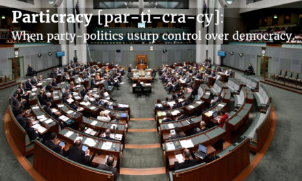 Particracy Rules: the triumph of clever politics over leadership