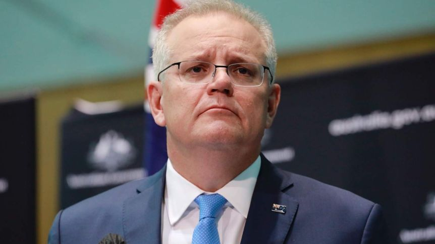 Scott Morrison bats away criticism of his government's lack of planning for aged care.