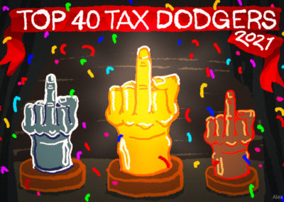 Revealed: Australia's Top 40 Tax Dodgers for 2021