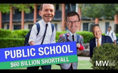 Tudge butchers public school funding!