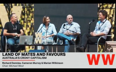 Land of Mates and Favours – Adelaide Writers Week panel