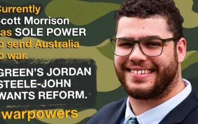 Jordon Steele-John on war powers reform