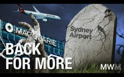 Macquarie is back to feast on Sydney Airport's brains!