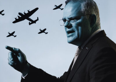 Power to go to war rests with one man – Scott Morrison – is Parliament okay with that?